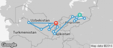 Central Asia – Multi-Stan Adventure - 16 destinations