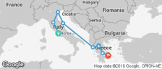 Best of Italy and Greece (10 Days) - 9 destinations