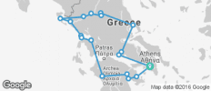 Secrets of Greece including Corfu Summer - 18 destinations