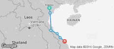 The Buffalo Run Hanoi to Hoi An in 7 Days - 7 destinations