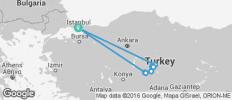 Istanbul & Cappadocia Adventure 7D/6N - 11 destinations