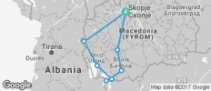Macedonia Guided Cycle - 8 destinations