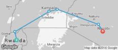 Kigali to Nairobi - 6 destinations