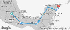 Chido Express Ways (from Mexico City) - 14 destinations