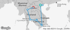 Sensational Southeast Asia with Chiang Mai & Luang Prabang - 19 destinations