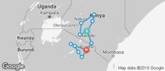 Kenya & Tanzania Private Safari with Nairobi - 13 destinations