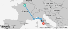 France and Italy Adventure Tour - 5 destinations