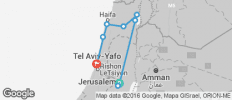 Israel and Beyond - 9 destinations