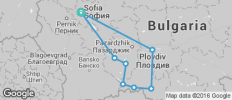 Rodopi Road Cycling (Bulgaria) - 8 destinations