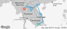 Vietnam & Laos on a Shoestring - 14 destinations