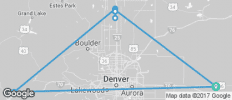 Colorado Rockies Continental Divide - 10 destinations