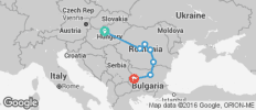 Budapest to Sofia Adventure - 11 destinations
