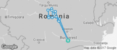 Cycle Romania - 14 destinations