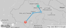Golden Triangle Tour with Udaipur - 4 destinations
