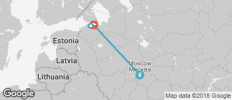 Back in the USSR - 7 days - 4 destinations