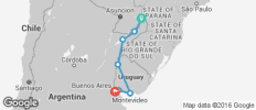Highlights of Argentina and Uruguay - Iguazu Falls to Buenos Aires - 7 destinations
