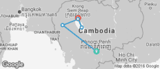 Highlights of Cambodia including Angkor Wat - 5 destinations