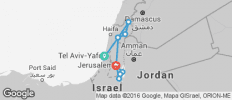 Israel Highlights Adventure 8D/7N - 10 destinations