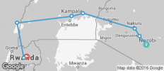 Nairobi To Kigali (13 Days) - 8 destinations