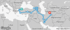 Istanbul To Ashgabat (44 Days) Caucasus And Persia Explorer - 20 destinations