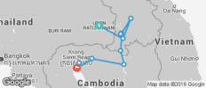 Khmer Empire Explorer by Bike - 12 destinations