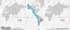 Alaska to Brazil Overland Adventure - 17 destinations