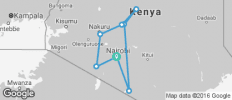 Kenya Private Safari with Nairobi, Amboseli National Park Area & Samburu National Reserve Area - 8 destinations