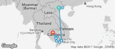 Fascinating Vietnam, Cambodia & the Mekong River with Hanoi & Ha Long Bay – Northbound - 18 destinations