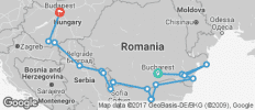 The Danube from the Black Sea to Budapest – Westbound - 17 destinations