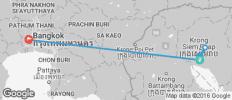 Siem Reap & Bangkok - 8 destinations