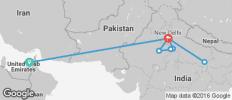 India\'s Golden Triangle with Dubai & Varanasi - 8 destinations