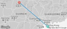 Hong Kong with Guilin - 2 destinations