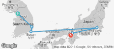 South Korea & Japan Highlights - 6 destinations