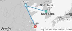 Seoul, Beijing & Shanghai - 5 destinations