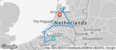 Tulips & Windmills - Antwerpen to Amsterdam - 9 destinations