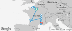 Ultimate France - Bordeaux to  Avignon - 24 destinations