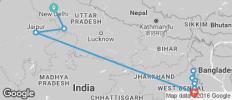 India\'s Golden Triangle & the Sacred Ganges - New Delhi to Kolkata - 11 destinations