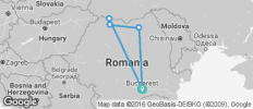 Walking Romania - 5 destinations