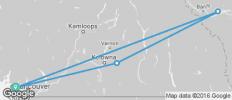 Canadian Scenic Route Adventure 8D/7N - 4 destinations