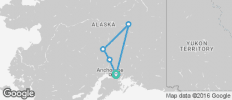 Alaska Full Experience 8D/7N - 5 destinations