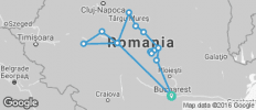 Transylvania revealed tour - 15 destinations