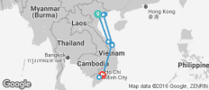 Vietnam Highlight Tour 11 Days - 14 destinations