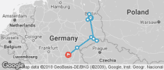 Easy bike & sightseeing tour Berlin - Dresden - Bamberg - 8 destinations