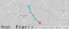 Waterways of Burgundy - Chatillion sur Loire - Decize - 5 destinations