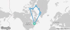 Northwest Passage Eastbound - 10 destinations