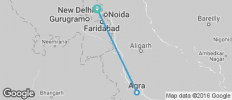 New Delhi and Agra Tour - 3 destinations