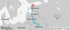 Belarus and Baltic Explorer - 4 destinations