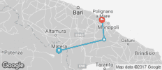 Italy - Basilicata to Puglia Bike Tour - 3 destinations