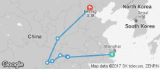 China Express (from Shanghai to Beijing) - 9 destinations