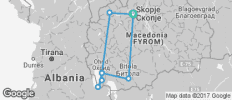 Macedonia Timeless Tour - 8 Days/ 7 Nights - 8 destinations